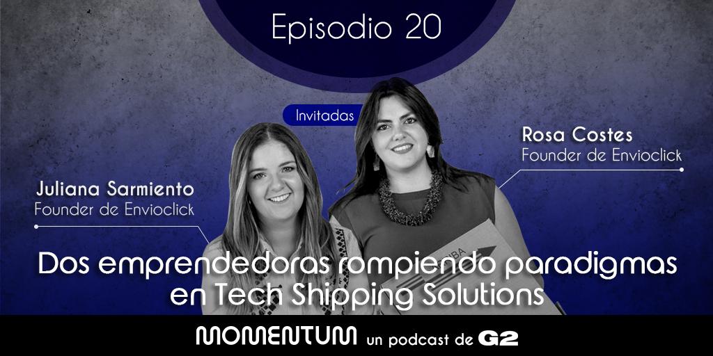 Portfolio Talks | Dos emprendedoras rompiendo paradigmas en Tech Shipping Solutions / Juliana y Rosa - Envíoclick